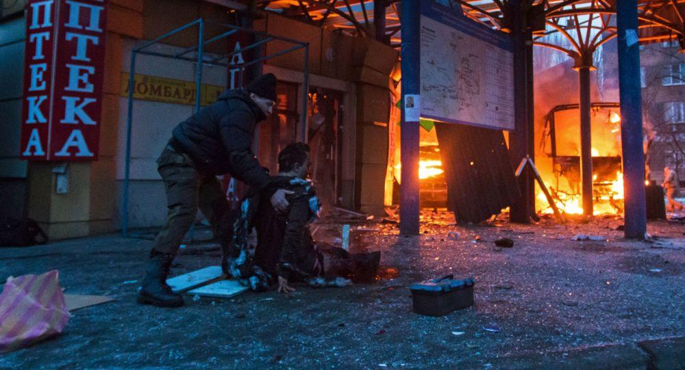 حملات شش ساعته ارتش اکراین بر منازل مسکونی شهر دونتسک