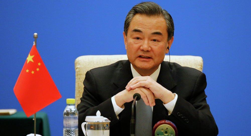 وانگ ائی، وزیر امورخارجه چین