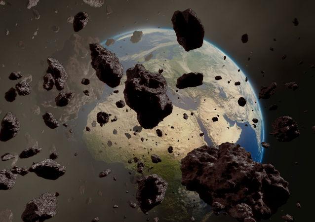 سقوط 40هزار تن ذرات فضایی بر زمین