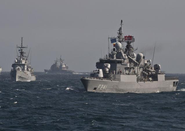 ورود چهار کشتی ناتو به بندر اودسا