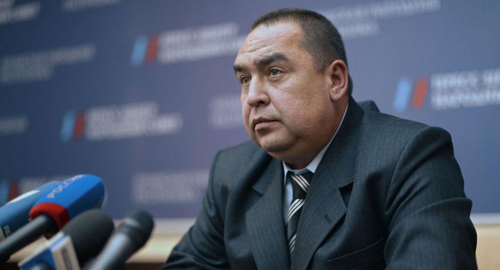 رئیس جمهور لوهانسک خواهان برگزاری رفراندوم الحاق دونباس به روسیه است