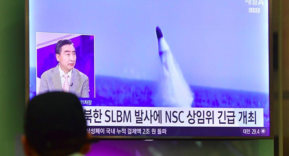 آزمایش موشکی ناموفق کره شمالی