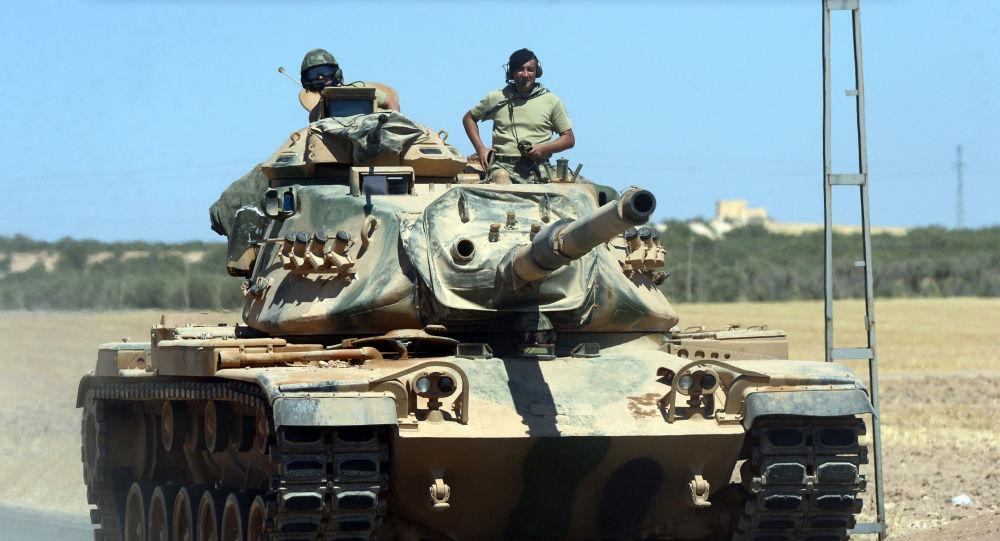 حملات توپخانه ای نیروهای ترکیه به ارتش سوریه