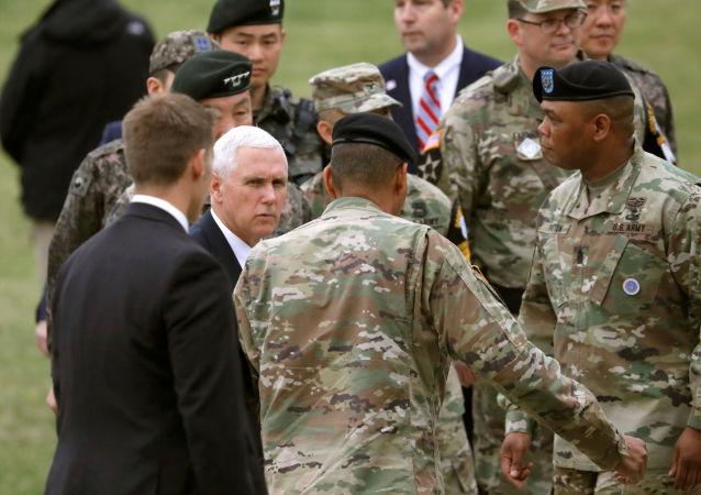 برخی منابع خبری ادعا کردند که معاون ترامپ پس از حمله ایران وارد عراق شد