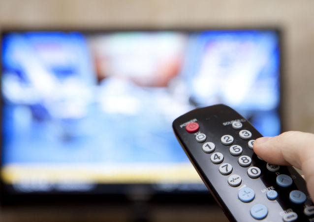 تکرار چندین باره کلمه روسیه در برنامه ای تلویزیونی آمریکا به دلیل نقص فنی