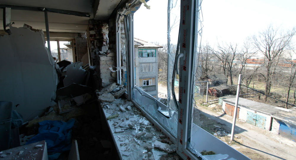 انفجار یک خوردروی  ماموران سازمان امنیت و همکاری اروپا،  در خط مرزی درگیری ها در دنباس