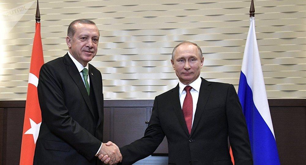 پوتین و اردوغان خط لوله جریان ترکیه را راه اندازی کردند