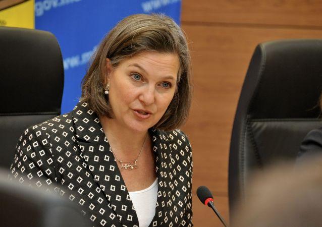 نولاند: انتخابات دونباس یکی از مسائل مورد بحث در مذاکرات مسکو بود