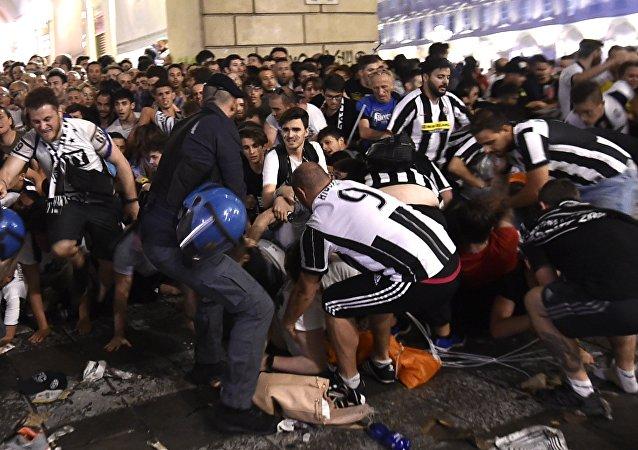تعداد مجروحان فینال لیگ قهرمانان اروپا به 1400 نفر رسید