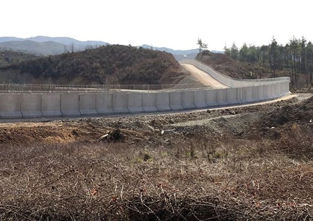 دیوار مرزی ترکیه و ایران