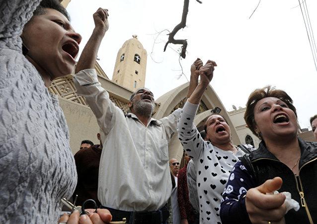 تظاهرات مردم مصر بر علیه عربستان (عکس)