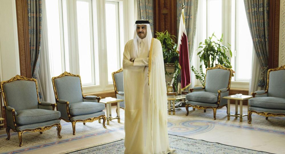 تمیم بن حمد التانی امیر قطر