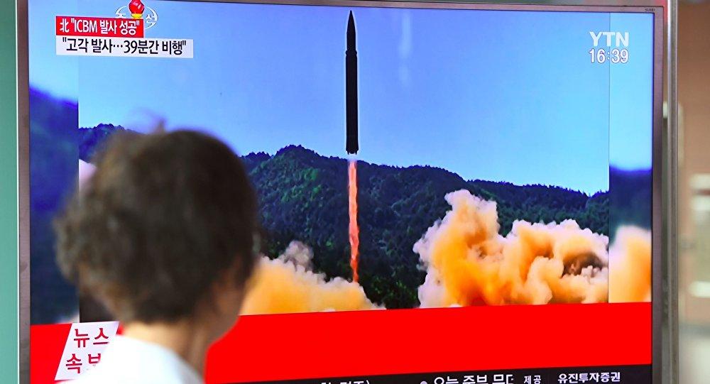 کره شمالی خبر از آزمایش موفقیت آمیز سیستم موشکی هایپرسونیک داد