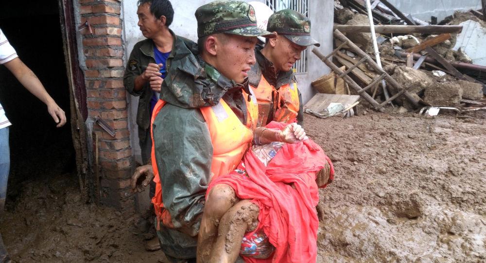 زلزله مهیب 6.3 ریشتری در چین