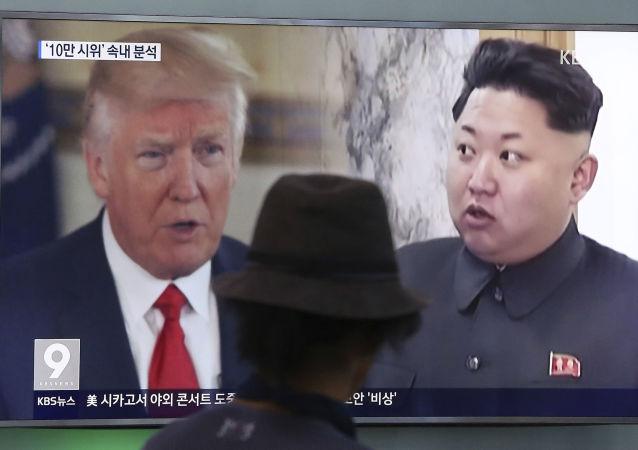 آمریکا قول داد در صورت رفتار بد از سمت کره شمالی به آن پاسخ دهد