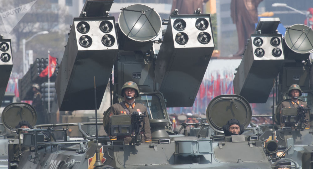 شلیک مستقیم موشک از واگن قطار در کره شمالی