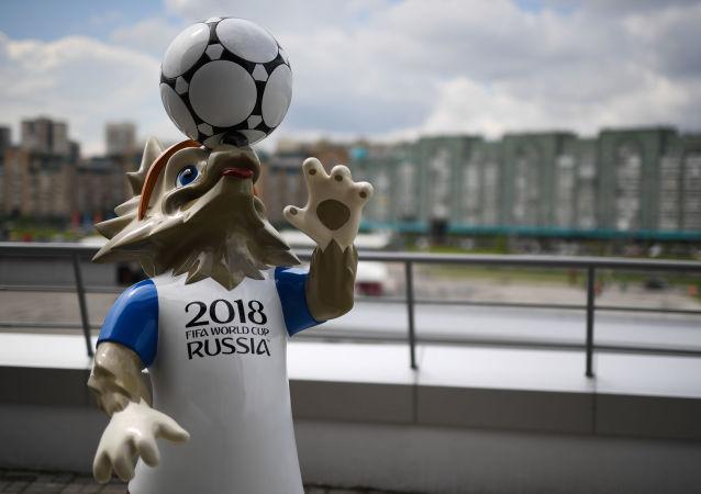 سفره ای با نماد تیم های جام جهانی 2018 در کازان پهن می شود