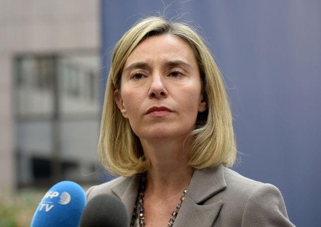 موگرینی خبر از آماده شدن سازوکار ویژه مالی اروپا با ایران داد