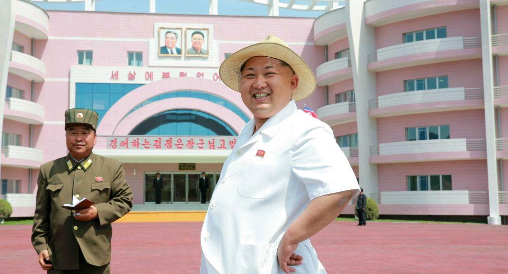 کیم چین این رهبر کره شمالی