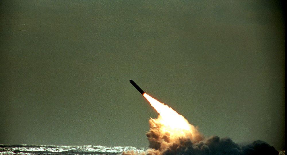 آمریکا موشک بالستیک Trident II را آزمایش کرد