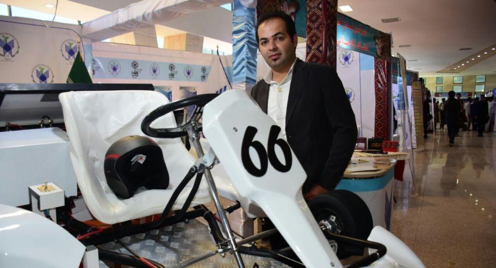 ساخت اولین خودروی کارتینگ برقی در ایران توسط مخترع زاهدانی+ تصاویر
