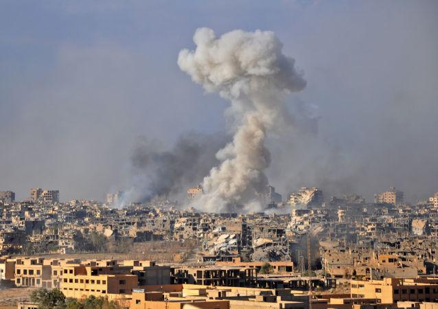 استفاده ائتلاف غربی از فسفر سفید در حمله به سوریه