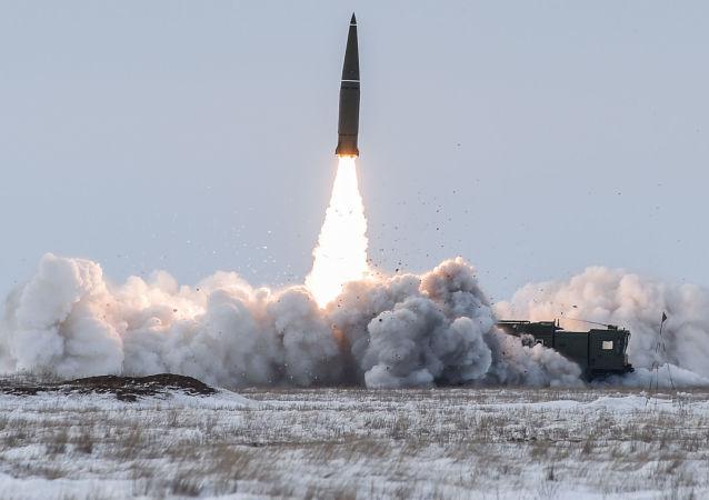آزمایش موشک ممنوعه در آمریکا