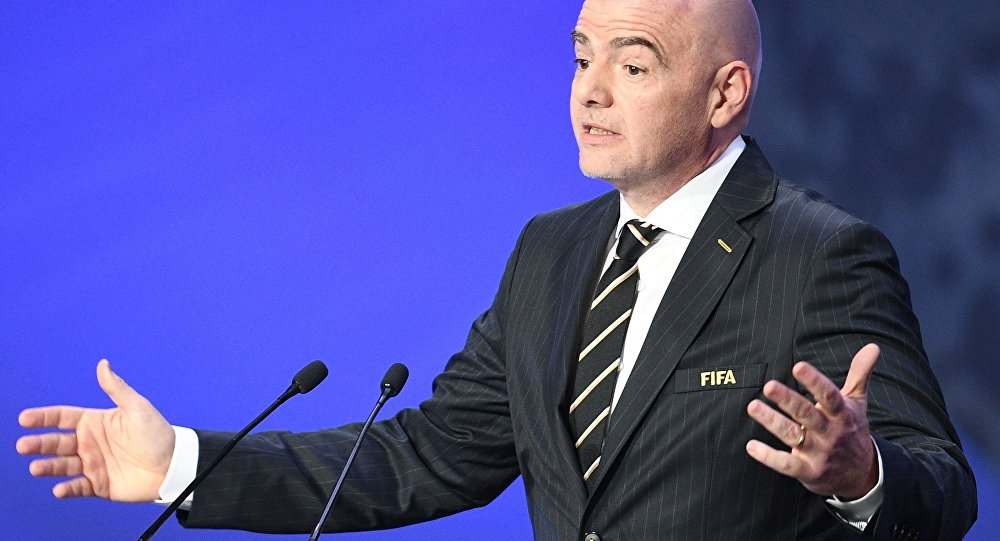 رئیس فیفا به کرونا مبتلا شد