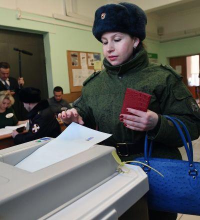 ۱۷ هزار نفر برای حفظ امنیت در حوزه های رای گیری مسکو