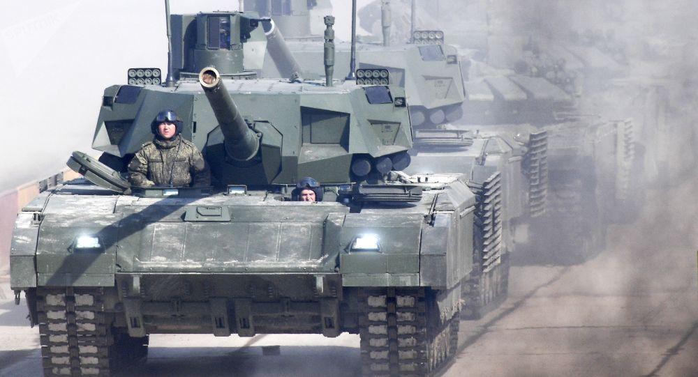 کشورهای خاورمیانه به تانک آرماتای روسیه علاقمندی نشان می دهند
