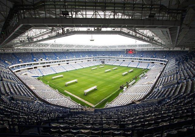 مسابقات فوتبال اتمی در کالینینگراد روسیه در آستانه جام جهانی فوتبال