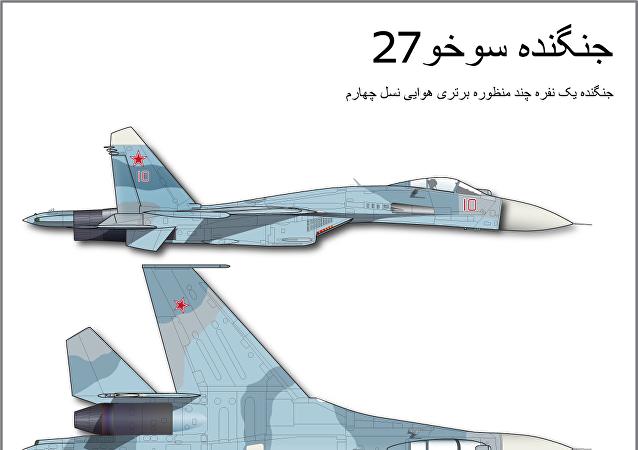 جنگنده سوخو 27