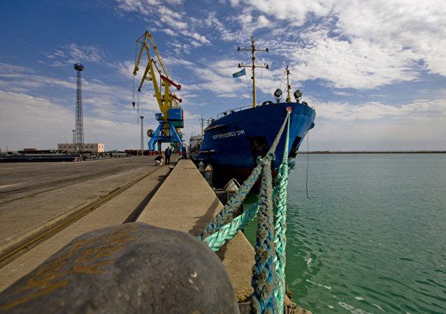 مسیر جدید کشتیرانی ایران-قزاقستان راهاندازی شد