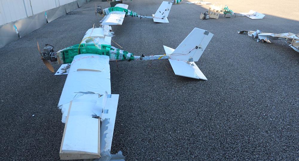 انتشارعکس پهپاد های مهاجم به پایگاه نظامی روسیه در سوریه + عکس