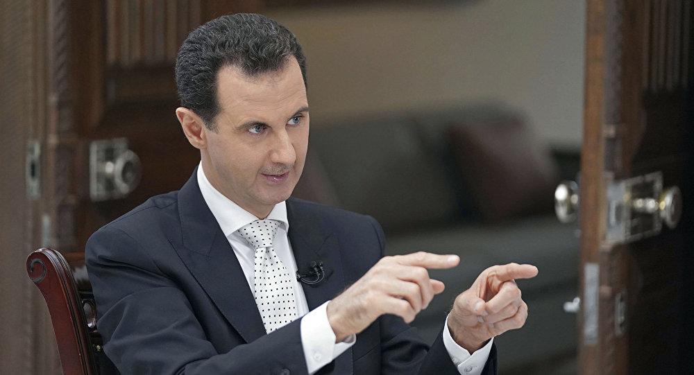 اسد: همچنان به تلاش برای محافظت از تروریست ها ادامه می دهند