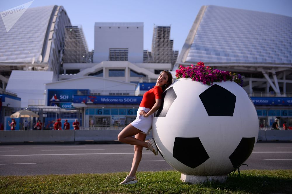 هوادار  مسابقات جام جهانی -2018 در روسیه