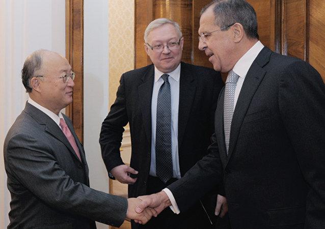 تاکید لاروروف بر نقش کلیدی آژانس در بازرسی ها پس از توافق 1+5 و ایران