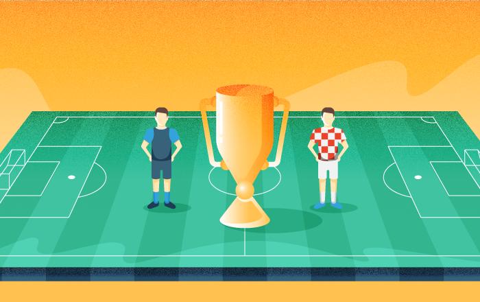 راهی که فینالیست های مسابقات جام جهانی فوتبال 2018 روسیه پیمودند