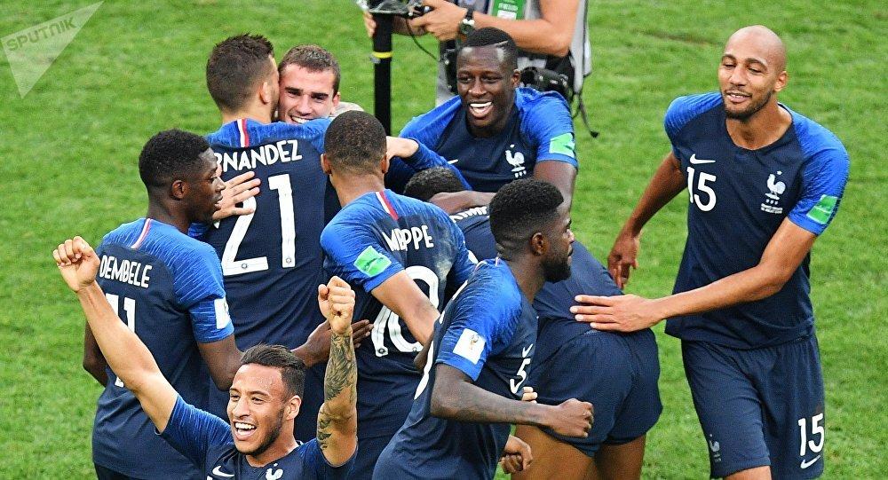 مقایسه تیم ملی فرانسه با میمون ها + عکس
