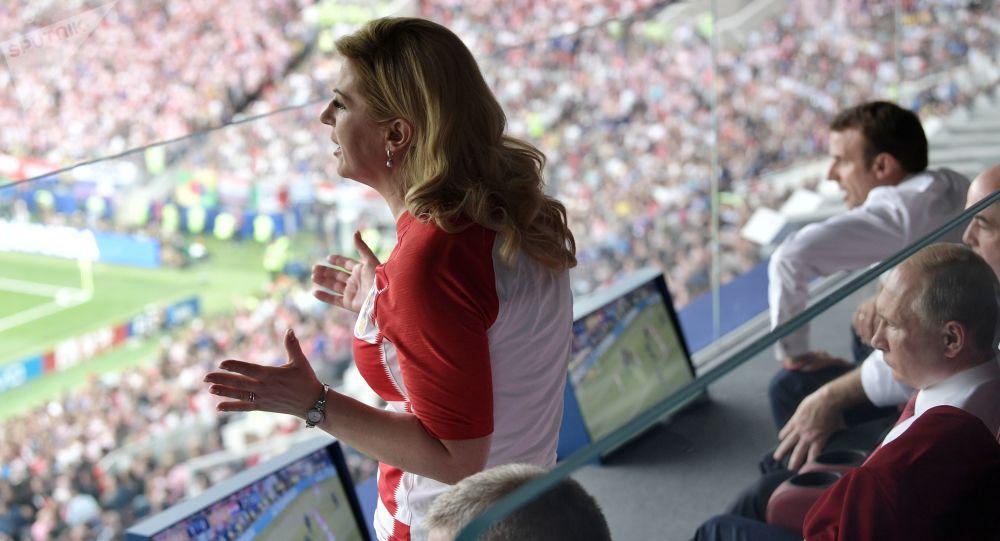 یکی از علت های علاقه رئیس جمهور کرواسی به ورزش +عکس