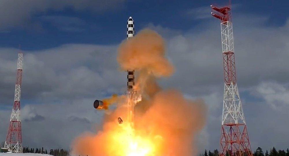 انتشار فیلم آزمایشات موشک روسی سرمت