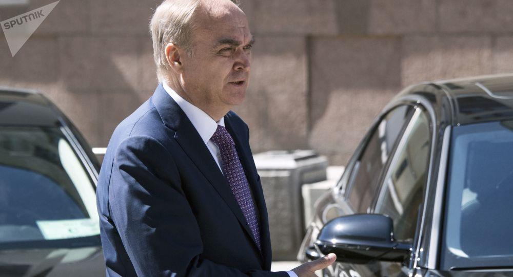 بازگشت سفیر روسیه به آمریکا