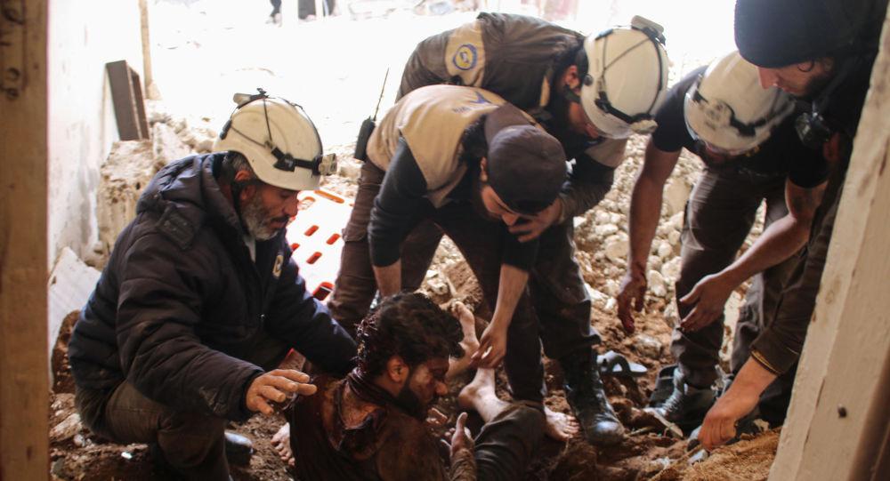 کلاه سفیدها و شبه نظامیان در حال آماده سازی تحریکات شیمیایی در سوریه هستند