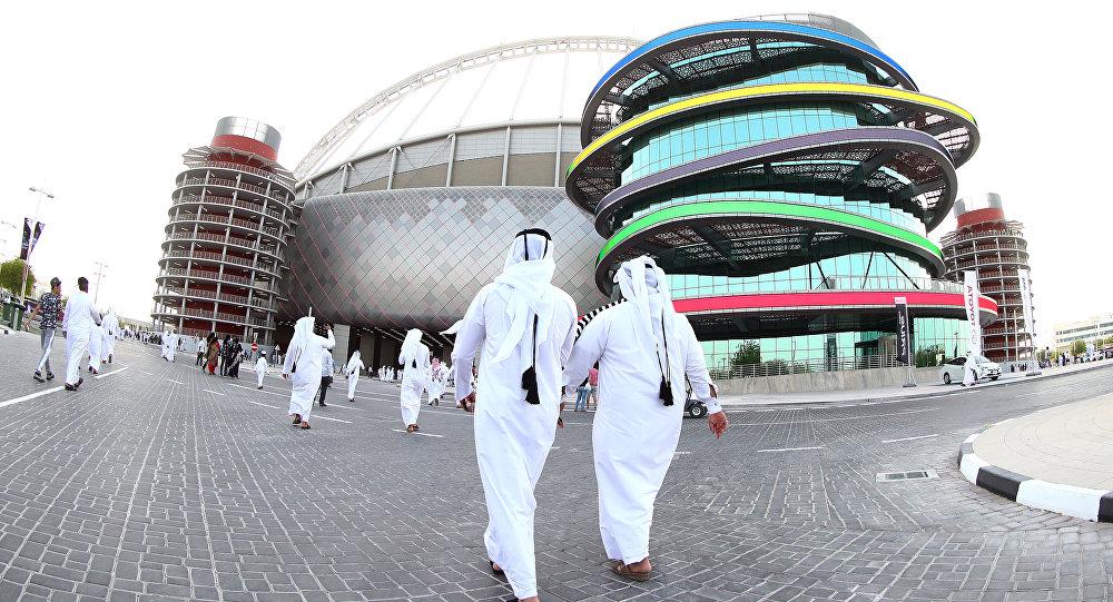 تکمیل سومین ورزشگاه جام جهانی فوتبال  ۲۰۲۲ در قطر + عکس