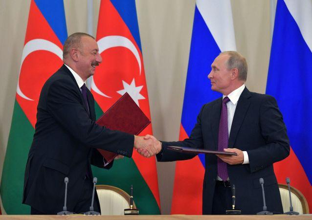 اولین گفتگوی پوتین با علی اف پس از  متشنج شدن اوضاع در قره باغ