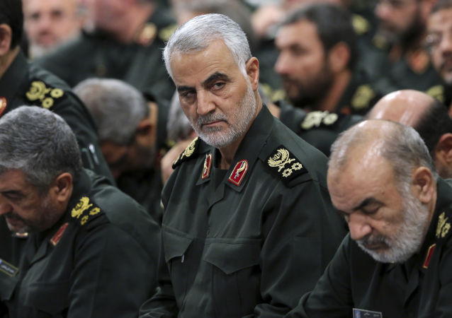 درخواست آمریکا برای دستگیری سردار سلیمانی در عراق