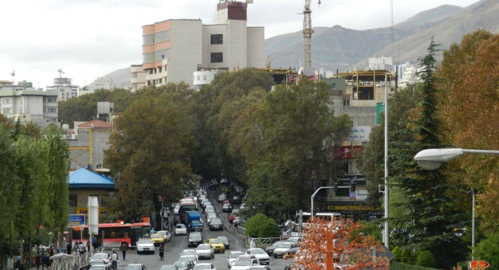 شنیده شدن صدای انفجار در پایتخت ایران + عکس