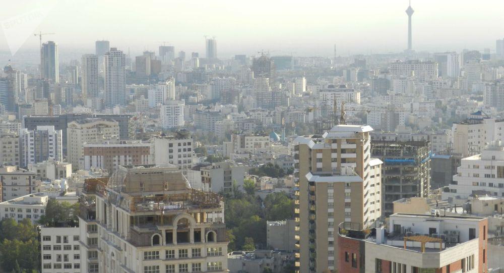 آتش سوزی در بیمارستان دی  در پایتخت ایران