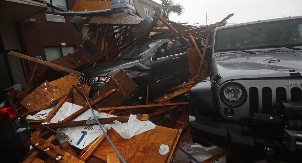 طوفان مایکل به پایگاه نظامی آمریکا خسارت جدی وارد کرد