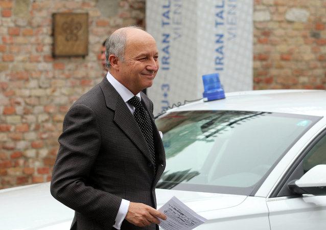 لوران فابیوس وزیر خارجه فرانسه